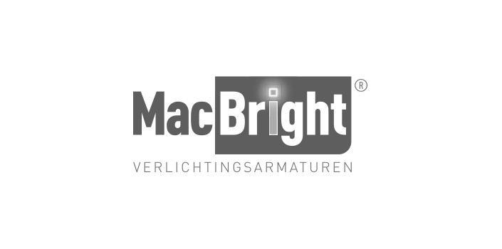 MacBright logo noodverlichting
